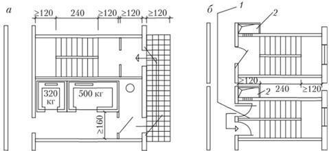 Об'ємно-планувальні рішення житлових будинків - основи архіт.